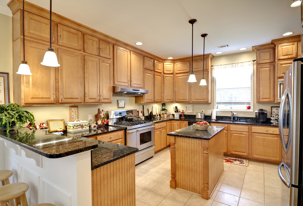 Custom Kitchens Created Here